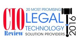 CIO Review Top 20 Legal Providers 2016