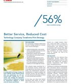 Better Service Reduced Cost